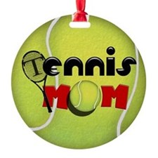 Tennis Mom Ornament