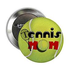 "Tennis Mom 2.25"" Button"