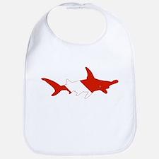 Shark Diver Bib