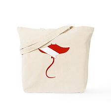 Stingray Diver Tote Bag