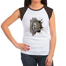 Left Brain Right Brain Women's Cap Sleeve T-Shirt