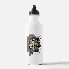 Left Brain Right Brain Sports Water Bottle