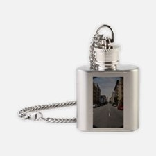 Street's of san Francisco Flask Necklace