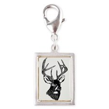 White Tailed Deer 10 Point Buck Charms
