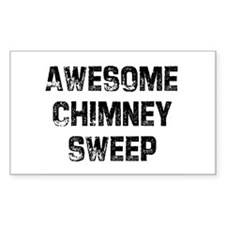 Awesome Chimney Sweep Rectangle Decal