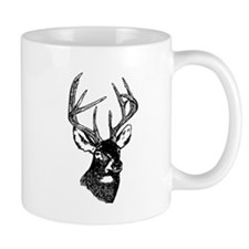 White Tailed Deer 10 Point Buck Mugs