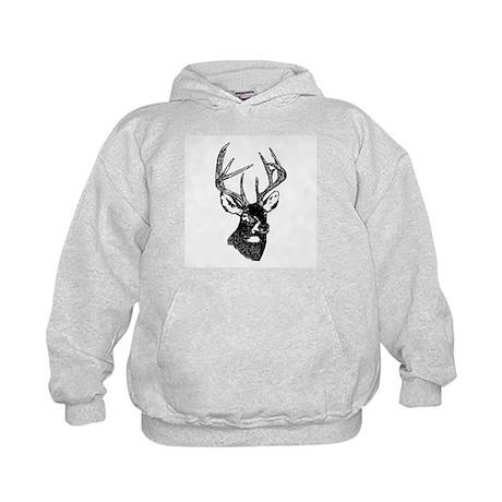 White Tailed Deer 10 Point Buck Hoodie