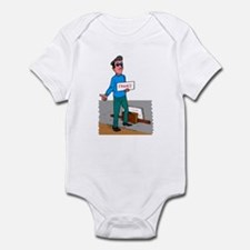 French Hitchhiker Infant Bodysuit