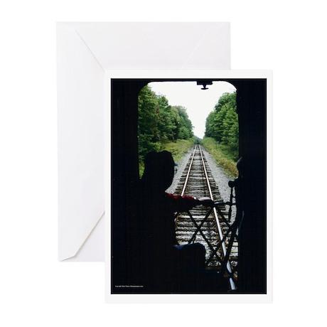 Railroad Man Greeting Cards (Pk of 10)