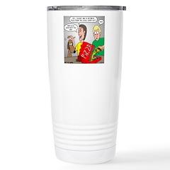 Pizza Dog Stainless Steel Travel Mug