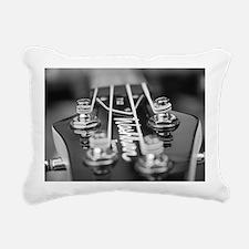 Washburn Bass Guitar bla Rectangular Canvas Pillow