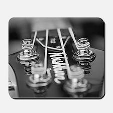Washburn Bass Guitar black and white Mousepad