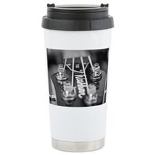 Washburn Bass Guitar black and  Travel Mug