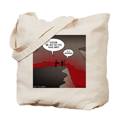 Wi-Fi in Hell Tote Bag