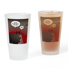 Wi-Fi in Hell Drinking Glass