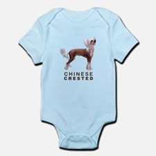 Chinese Crested Infant Bodysuit