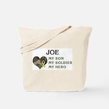 Joe: My Hero Tote Bag