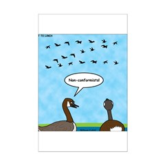 Geese Nonconformists Posters
