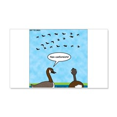 Geese Nonconformists Wall Decal