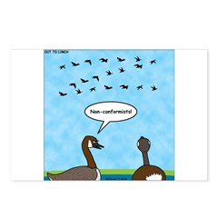 Geese Nonconformists Postcards (Package of 8)