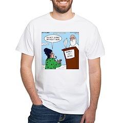 Cat Lady in Heaven Shirt