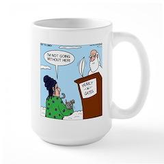 Cat Lady in Heaven Mug
