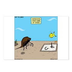 Horseshoe Crab Game Postcards (Package of 8)