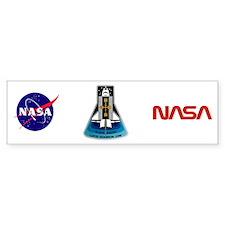 OV-104 Atlantis: STS 43 Bumper Sticker
