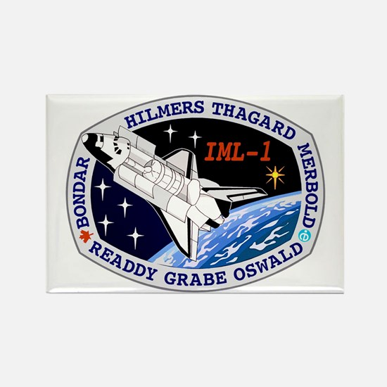 STS-42 Discovery Rectangle Magnet