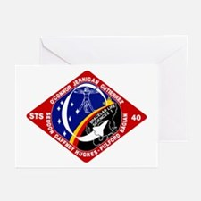 STS-40 Columbia Greeting Cards (Pk of 10)