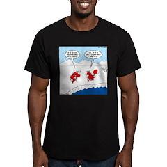 Lobster Vacation Men's Fitted T-Shirt (dark)