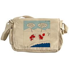 Lobster Vacation Messenger Bag