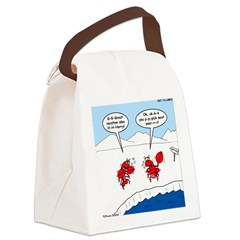 Lobster Vacation Canvas Lunch Bag