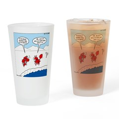Lobster Vacation Drinking Glass