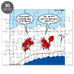 Lobster Vacation Puzzle