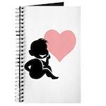 Valentine Silhouette Thinking of You Design Journa