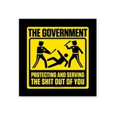 Protecting And Serving Sticker