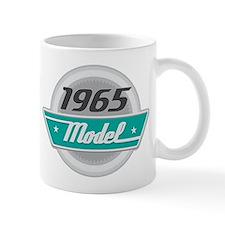 1965 Birthday Vintage Chrome Logo Mugs