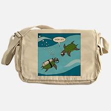 Seaturtle SCUBA Messenger Bag