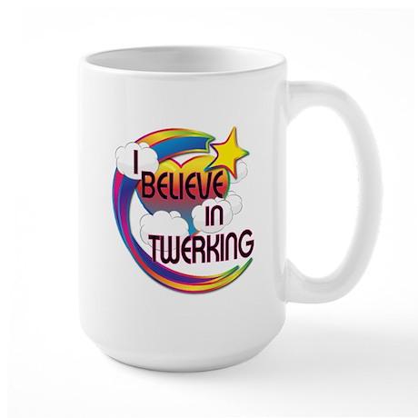 I Believe In Twerking Cute Believer Design Large M
