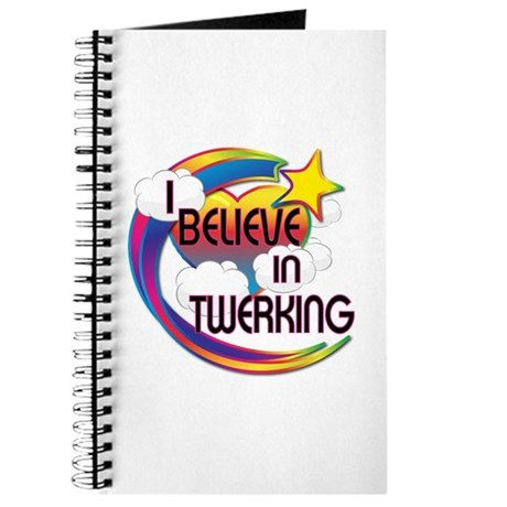 I Believe In Twerking Cute Believer Design Journal