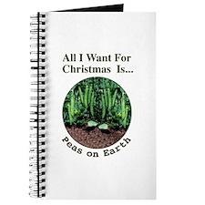 Xmas Peas on Earth Journal