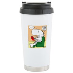 Whale Favorite Book Travel Mug