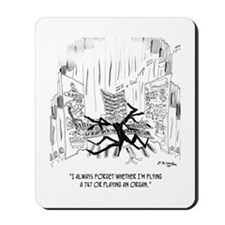 Playing an Organ or Flying a 747? Mousepad