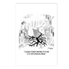 Playing an Organ or Flying a 747? Postcards (Packa