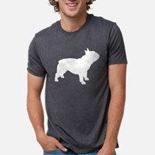 Cute French bulldog dog breed designs Mens Tri-blend T-Shirt