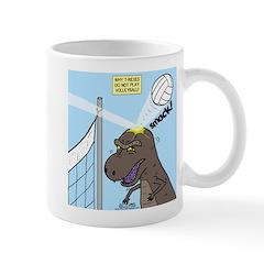 T-Rex Volleyball Mug