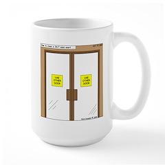 Closing a Mini-Mart Mug
