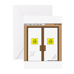 Closing a Mini-Mart Greeting Cards (Pk of 10)
