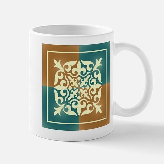 TEAL & TERRA TILE Mug